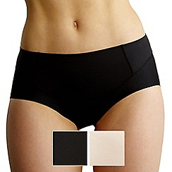 Debenhams - Pack of two 'Invisible' shapewear pants