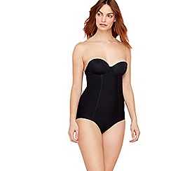 Debenhams - Black firm control B-D shapewear body