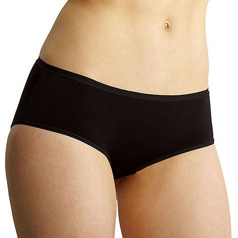 Debenhams - Black supersoft invisible shorts