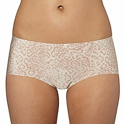 Debenhams - Natural 'invisible' satin shorts