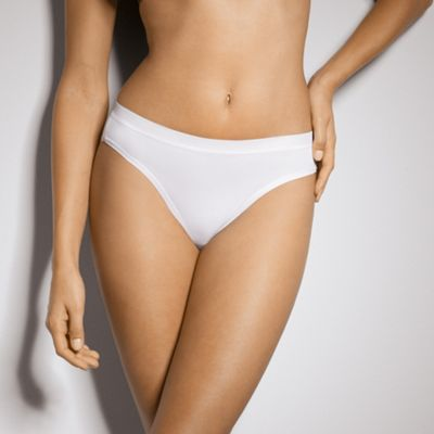 White Sensual tai briefs