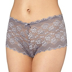 Debenhams - Grey lace shorts