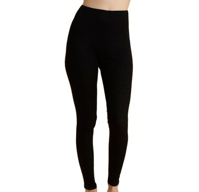 Debenham Black thermal legging - . -