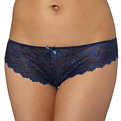Debenhams - Navy lace thong