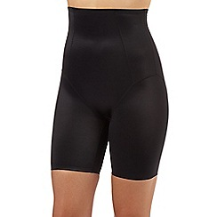 Debenhams - Black firm control high waisted thigh slimmers
