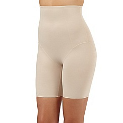 Debenhams - Natural firm control thigh slimming briefs