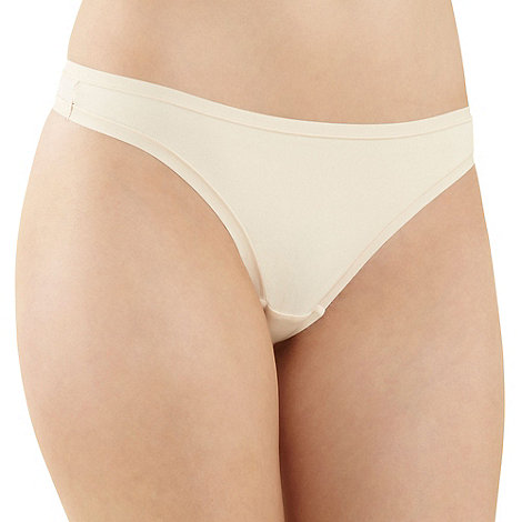 Debenhams - Natural soft invisible thong