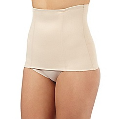 Debenhams - Nude firm control shaping waist-nipper
