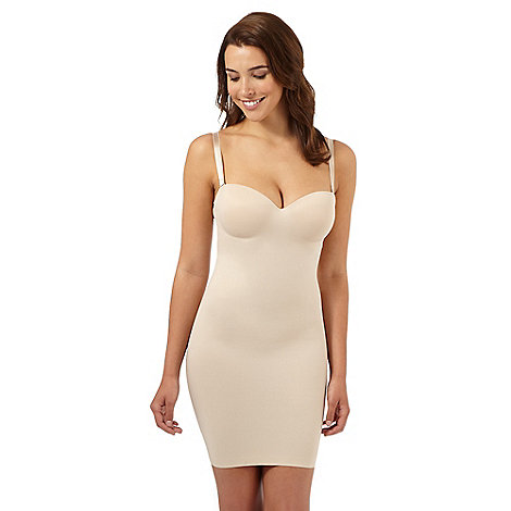 Debenhams - Nude firm control shaping slip
