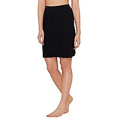Debenhams - Black invisible half slip