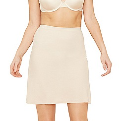 Debenhams - Taupe invisible half slip