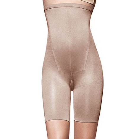 Spanx - Natural high waisted shapewear shorts