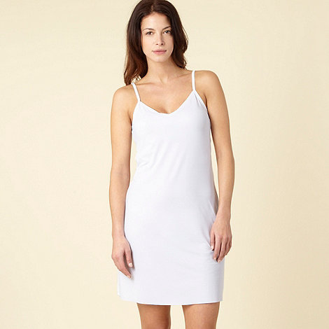 Debenhams - White full slip