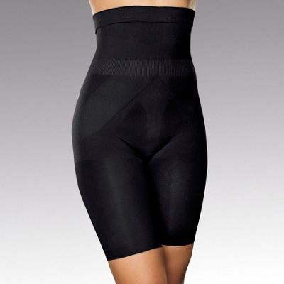 Magic black bum, tum & thigh shapewear shorts