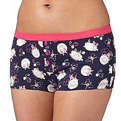 Debenhams - Navy sheep print boxers