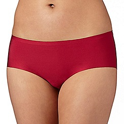 Debenhams - Dark pink 'invisible' soft microfibre shorts