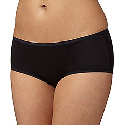 Debenhams - Black super soft 'invisible' shorts