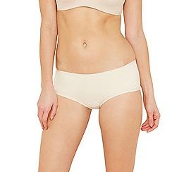 Debenhams - Natural 'invisible' super soft shorts