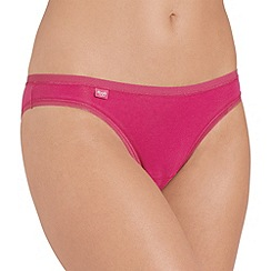 Sloggi - Dark pink 'Evernew' mini brief