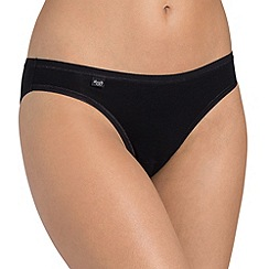 Sloggi - Black 'Evernew' mini brief