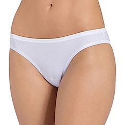 Sloggi - White 'Evernew' mini brief