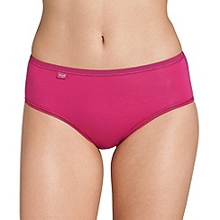 Sloggi - Dark pink 'Evernew' midi brief