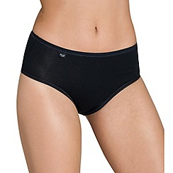 Sloggi - Black 'Evernew' midi brief
