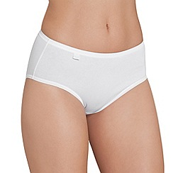 Sloggi - White 'Evernew' midi brief