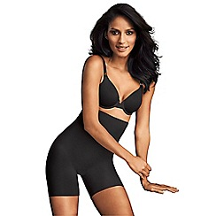 Maidenform - Black high waisted shapewear shorts