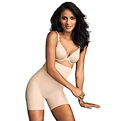 Maidenform - Natural high waisted shapewear shorts
