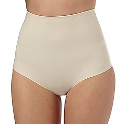 The Collection - Nude firm control high waist briefs