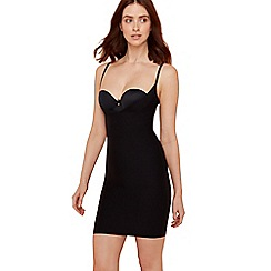 Debenhams - Black medium control shapewear slip