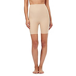 Debenhams - Natural thigh length shapewear shorts