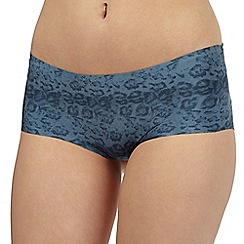 Debenhams - Navy animal print shorts