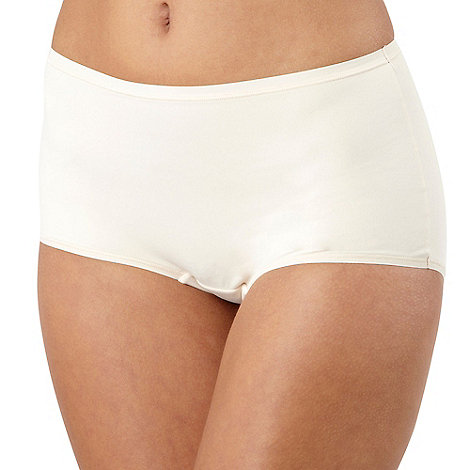 Debenhams - Natural invisible comfort full briefs