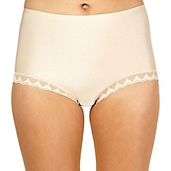 Debenhams - Natural invisible full briefs