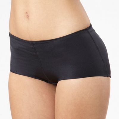 Black padded bum booster