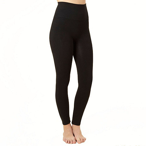 Assets Red Hot Label by Spanx - Black cotton shaping leggings