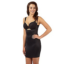 Debenhams - Black firm control 'Wear Your Own Bra' shaping slip