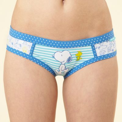Blue Snoopy shorts