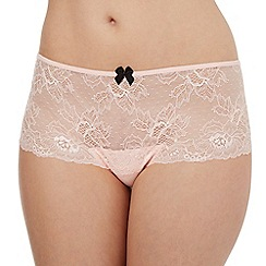 Debenhams - Pink lace midi shorts