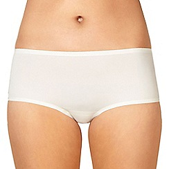 Debenhams - Ivory lace trim shorts