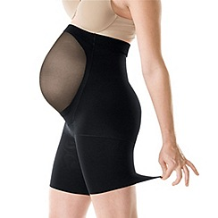 Spanx - Black 'Power Series' mama Spanx
