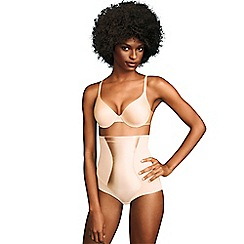 Maidenform - Natural easy up hi-waist brief