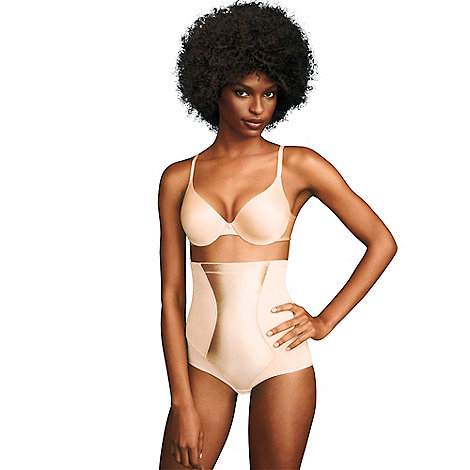 Maidenform - Natural Flexee Easy up hi-waist brief