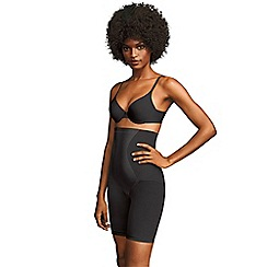 Maidenform - Black Flexee Easy up hi-waist thigh slimmer