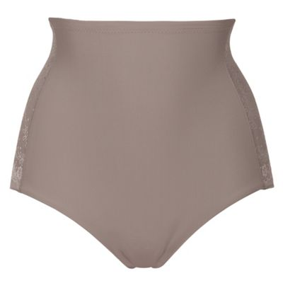 Taupe Cool Sensation high waist briefs