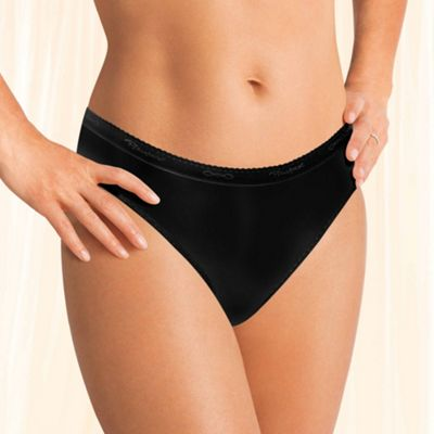 Playtex black tai brief