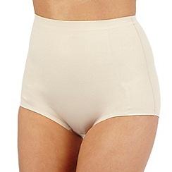 Debenhams - Nude firm control low leg shaping briefs