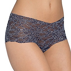 Sloggi - Navy 'Light Lace' short
